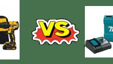 Dewalt 20v vs Makita 18v