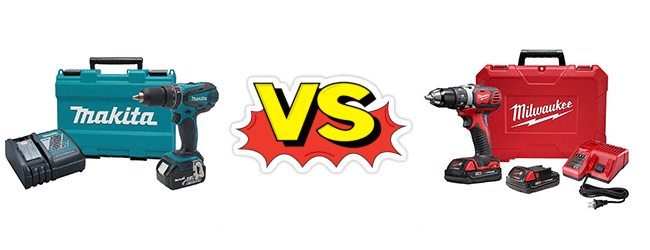 Makita Vs Milwaukee 18v Cordless Drill Comparison