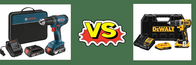 Bosch 18v Vs Dewalt 20v Cordless Drill Driver Review