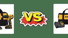 Dewalt DCD777C2 vs. DCD771C2