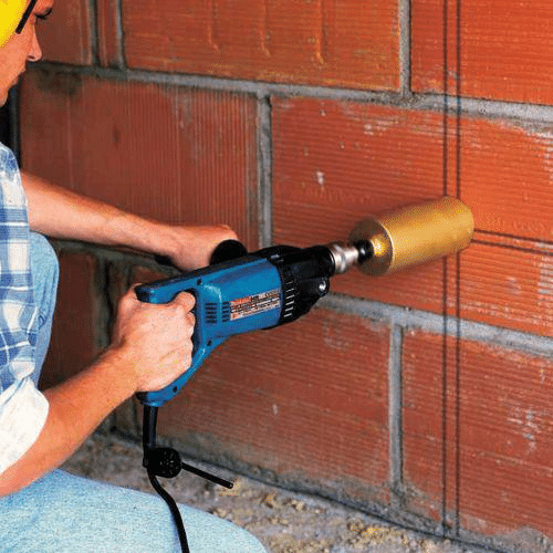 How To Drill A 2 Inch Or 4 Inch Hole In Concrete