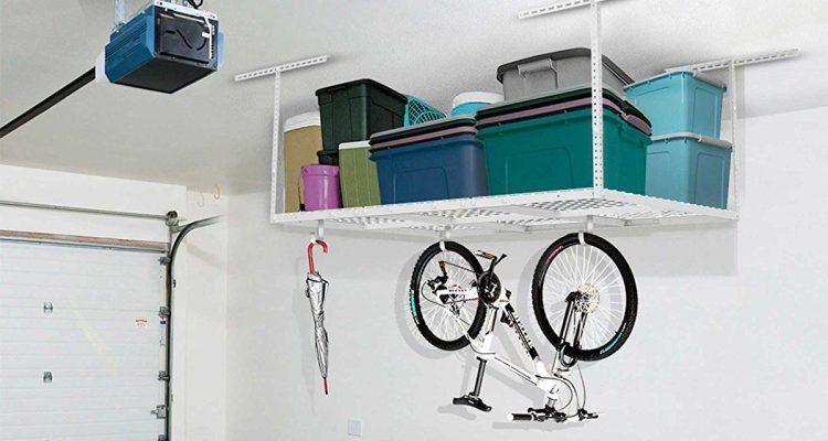 Best Overhead Garage Storage Ceiling Racks (Super Useful Ideas)