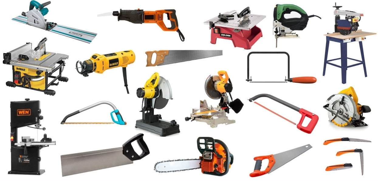 45 Different Types Of Saws & Their Uses For DIYers (With Pics)