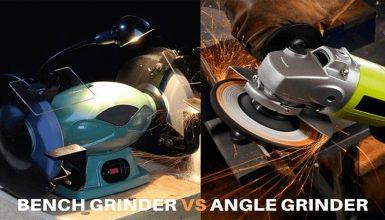 Angle Grinder VS Bench Grinder